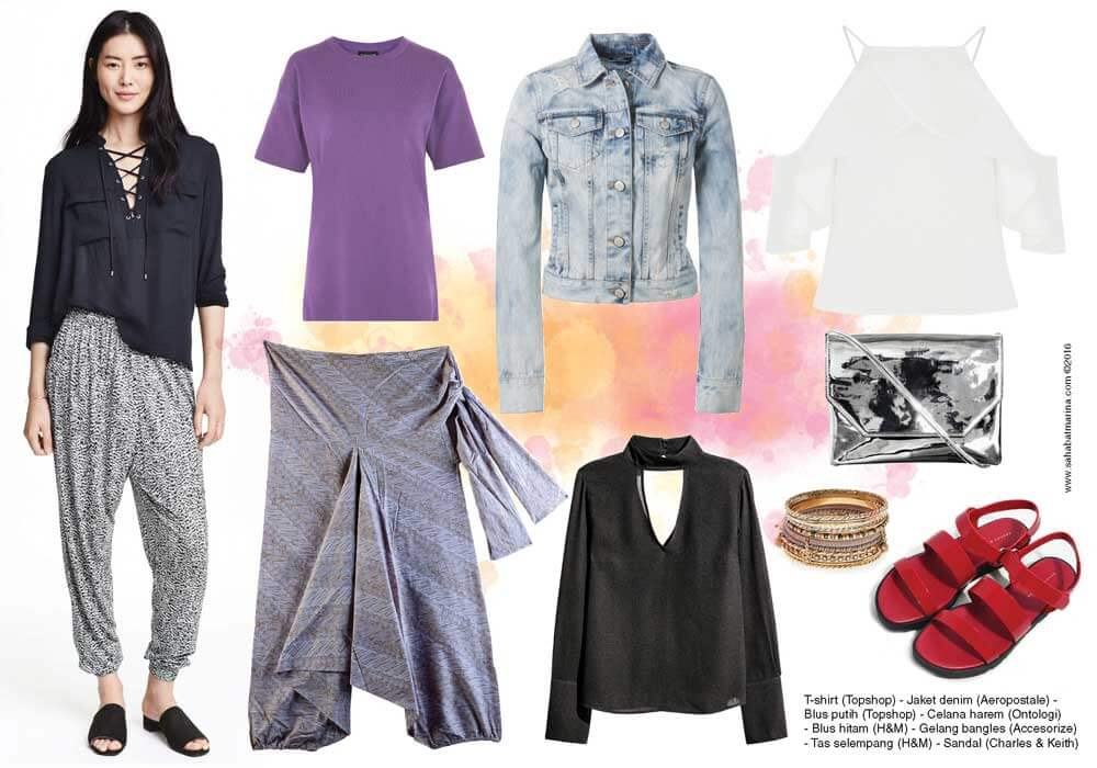 Mix & Match: Ethnic Harem Pants