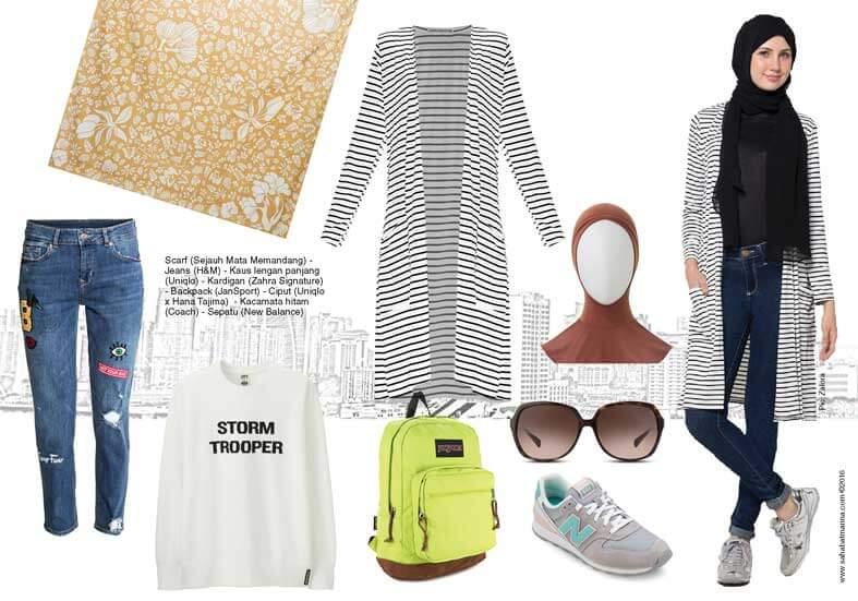 Hijab Traveler Outfit