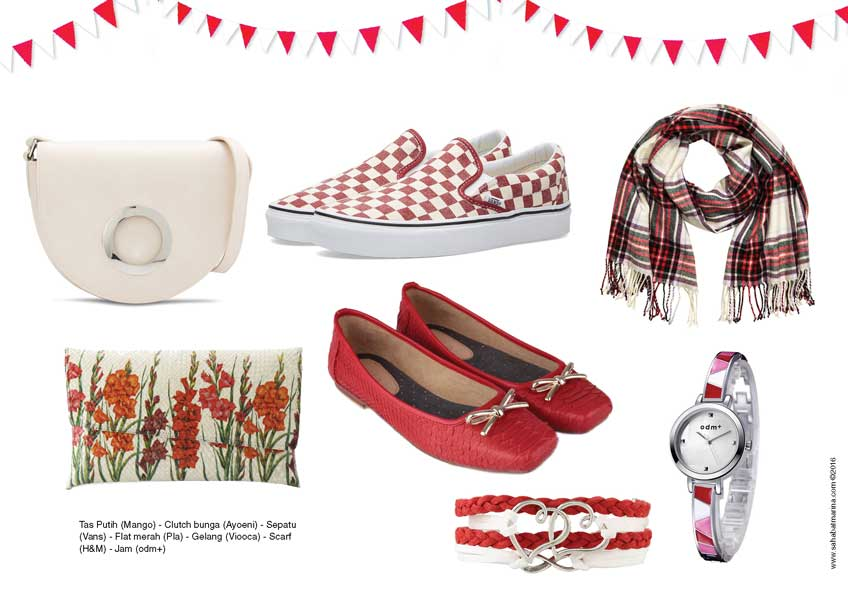 Touch of Red & White