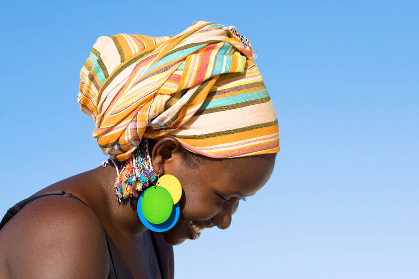 DIY: How to Wear Head Wrap