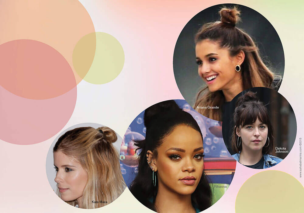 How to Do a Half-Bun Hairstyle