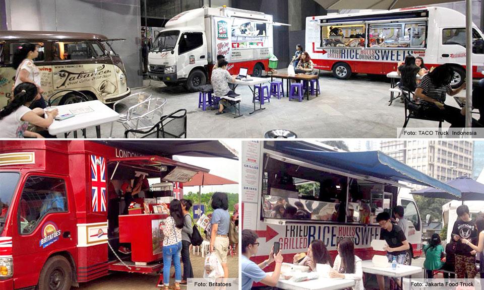 Jajan di Food Truck, Yuk Coba!