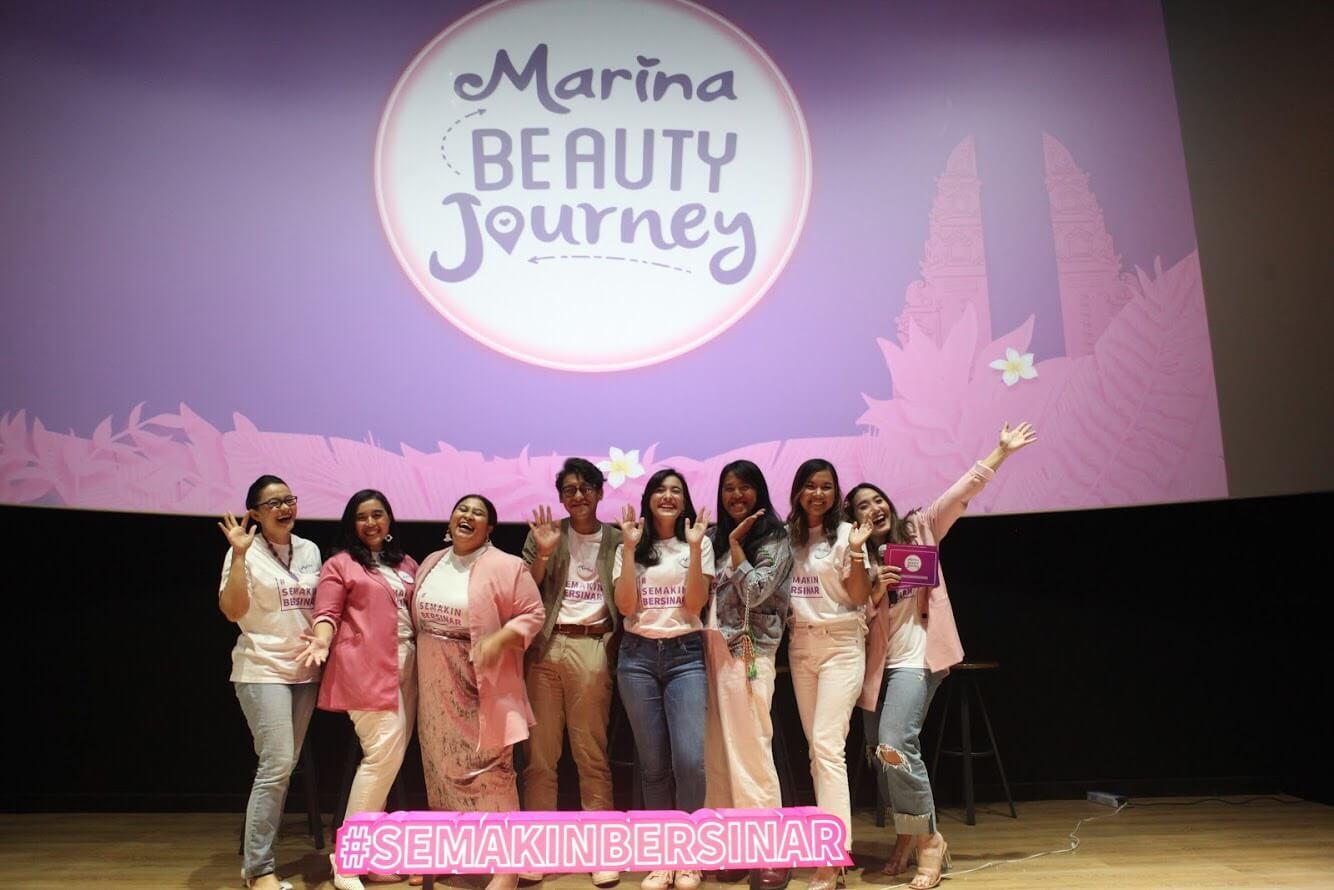 Yuk, Lebih Bijak Menggunakan Media Sosial dan #SemakinBersinar Bersama Marina Beauty Journey