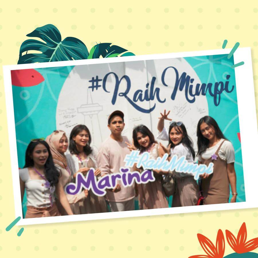 MARINA - Kembangkan Potensimu dan siap #RaihMimpi bersama Marina Beauty Journey!