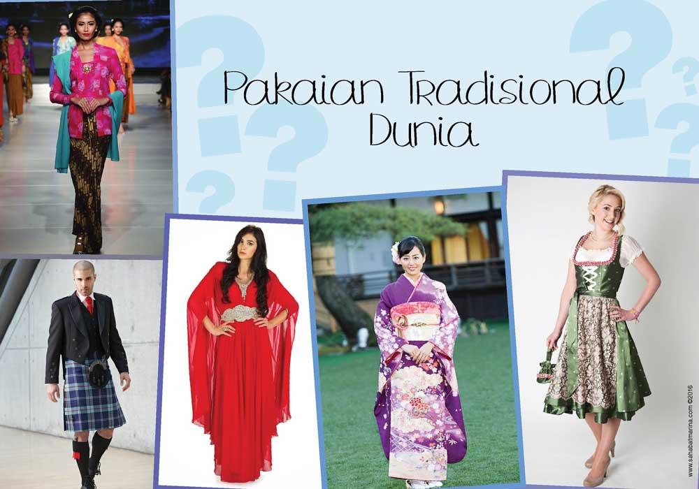 Pakaian Tradisional Dunia