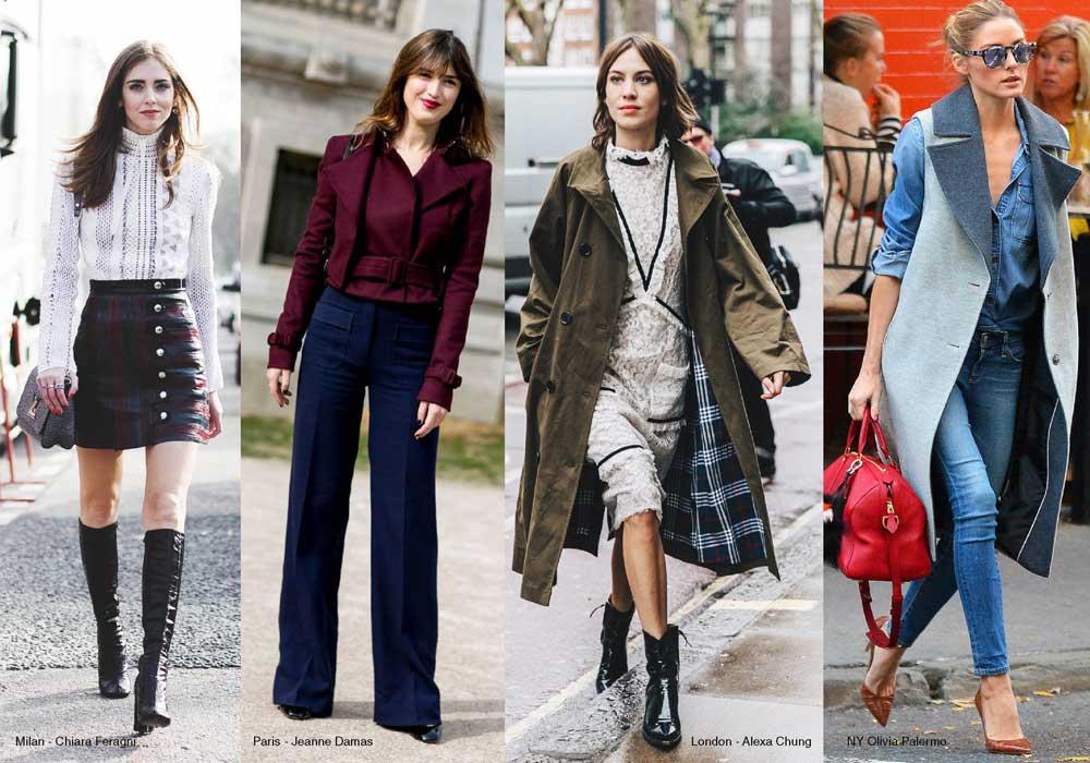 Gaya Empat Kota Fashion Dunia