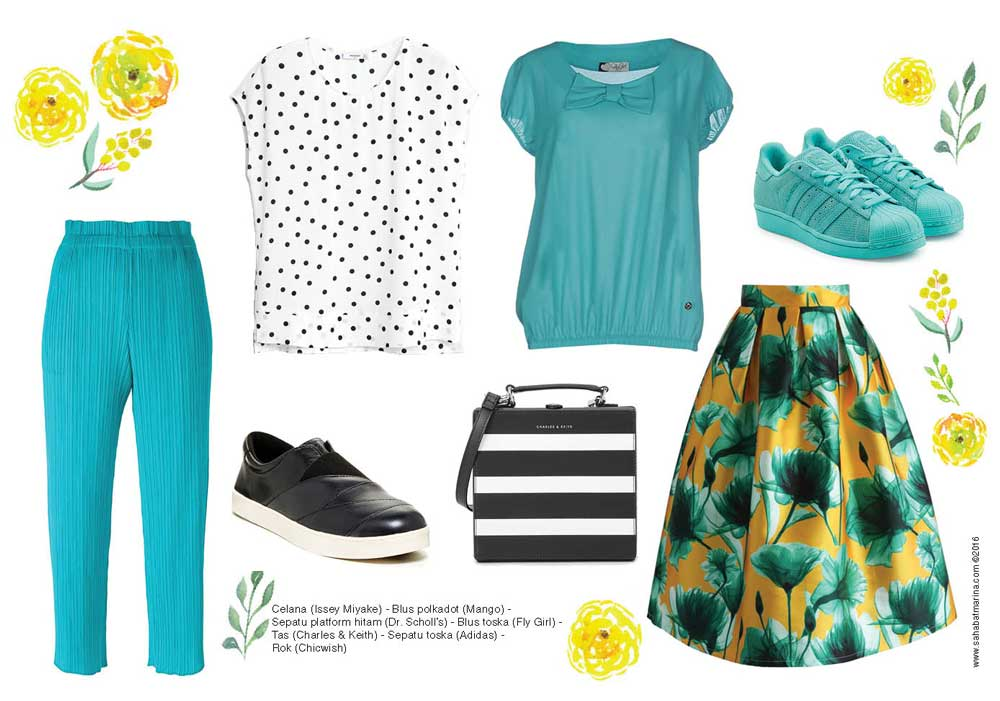 Mix Match Turquoise