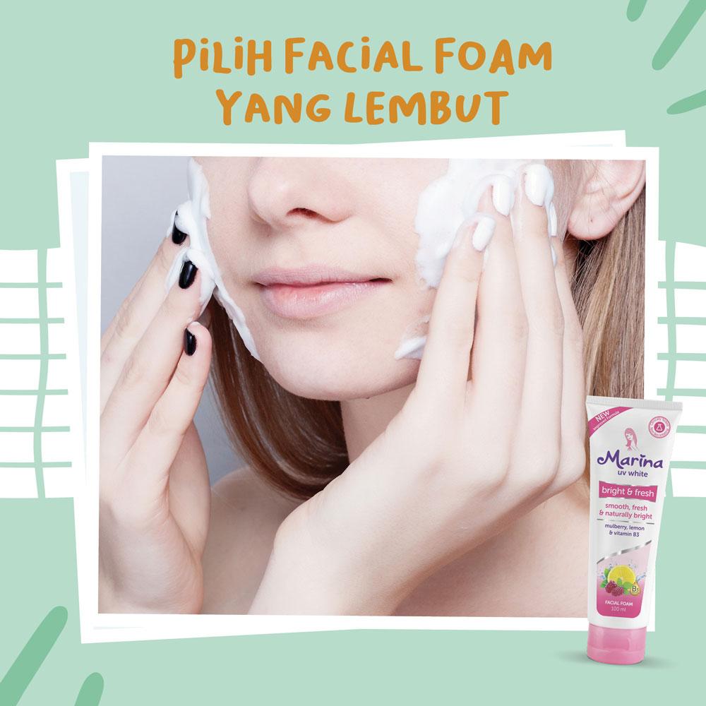 5 Tips Memilih Facial Foam Terbaik Untuk Kulitmu Marina