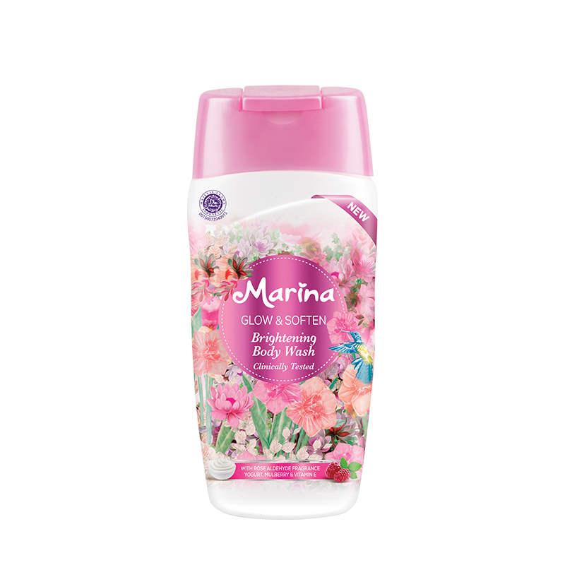 Marina Brightening Body Wash Glow & Soften