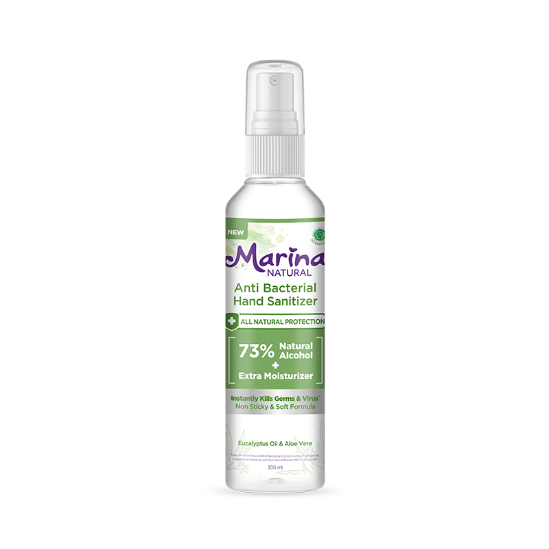 Marina Natural Anti Bacterial Hand Sanitizer Spray