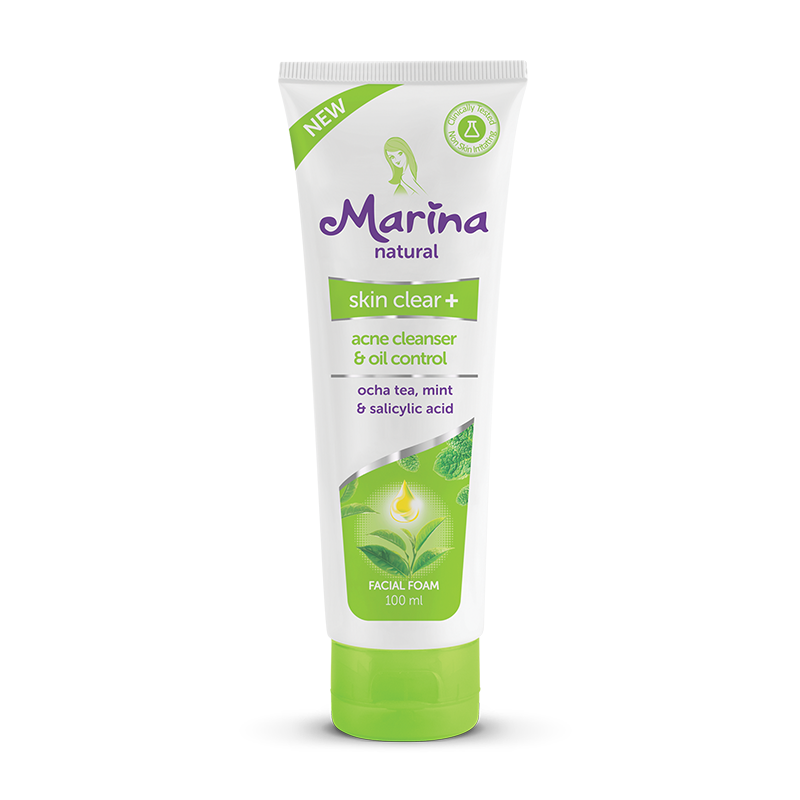 Marina Skin Clear+ Facial Foam