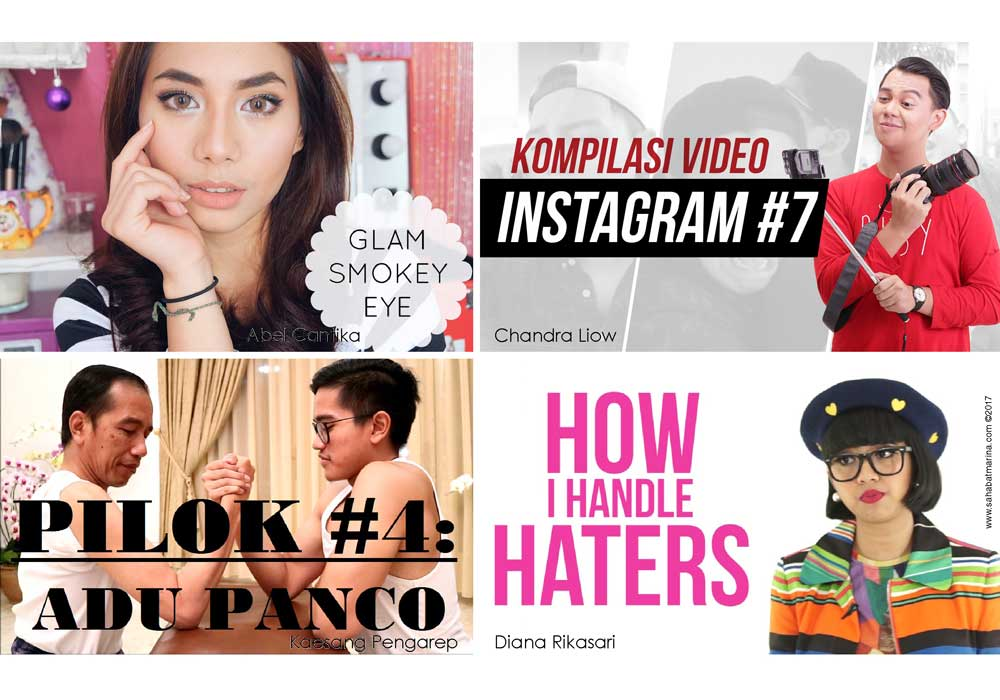 Vloggers & Bloggers Inspiratif Indonesia