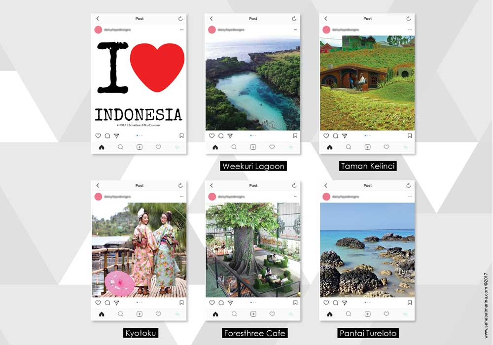 Tempat Wisata yang Instagrammable