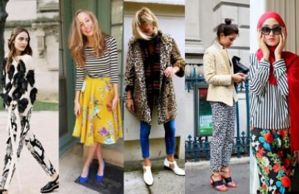 Tips Pake Outfit Tabrak Motif