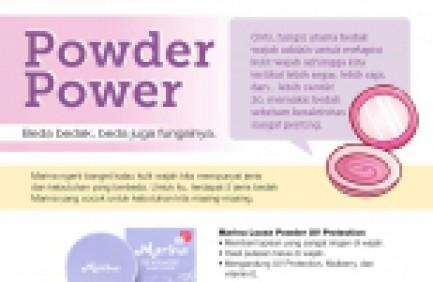 Powder Power Beda Bedak Beda Juga Fungsinya