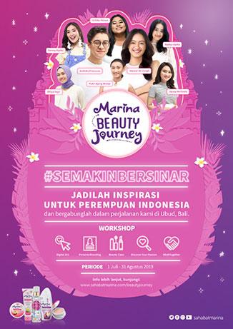 Yuk, Bikin Diri Kamu #SemakinBersinar Bersama Marina Beauty Journey