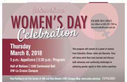 10 Perayaan International Women's Day 2018 di Seluruh Dunia