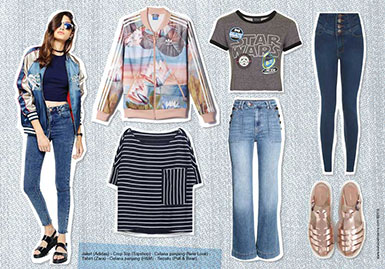 Mix & Match: High Waisted Jeans