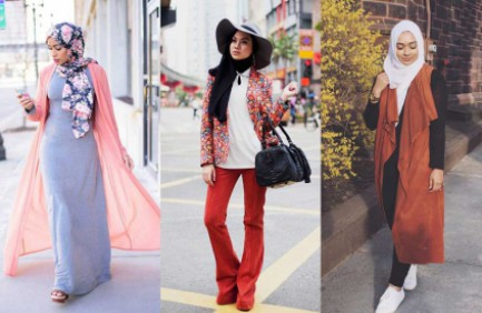 FASHIONABLE HIJABERS DURING THE SUMMER