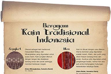 Beragam Kain Tradisional Indonesia