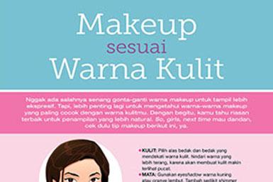 Makeup Sesuai Warna Kulit