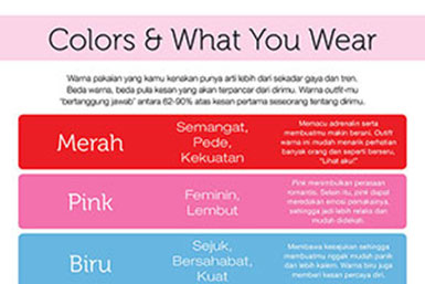 colors and what you wear