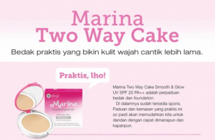 Marina Two Way Cake